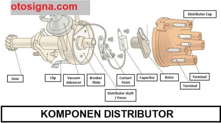 komponen distributor