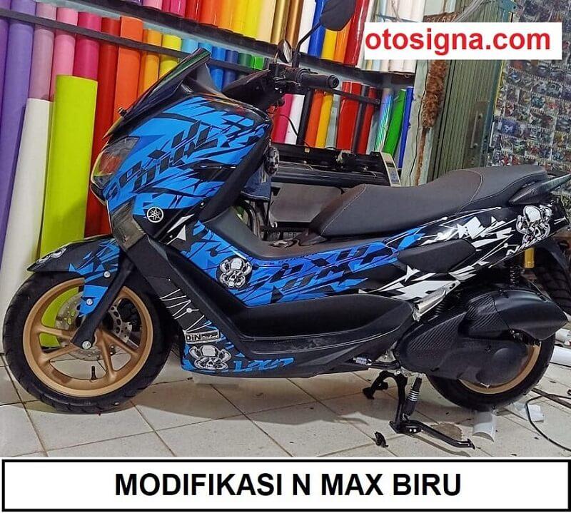 modifikasi-n-max-biru