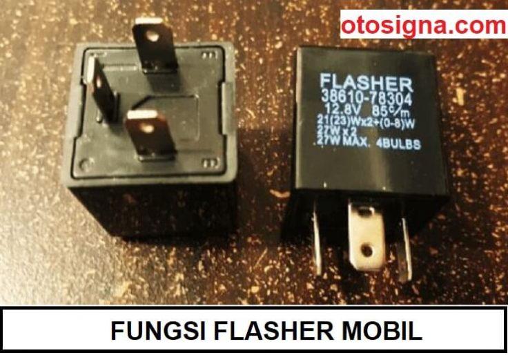 fungsi flasher mobil