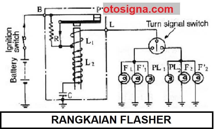 rangkaian flasher