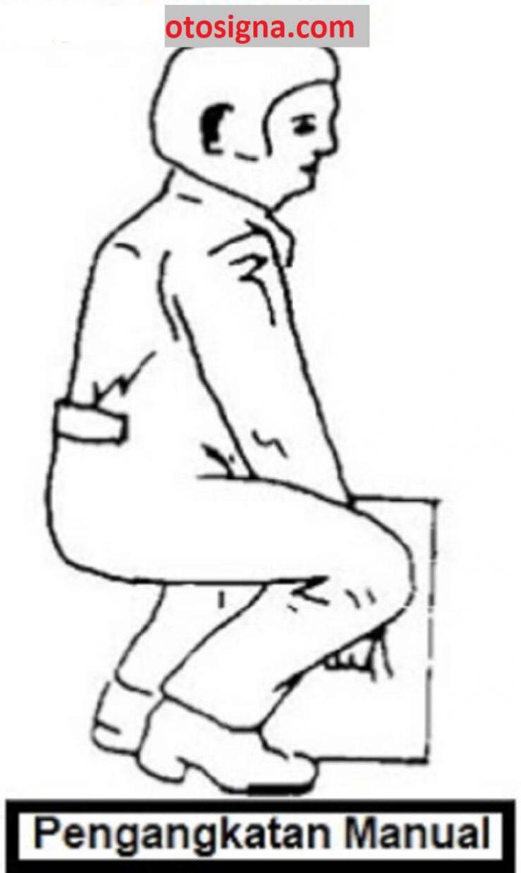 prosedur pengangkatan benda kerja manual