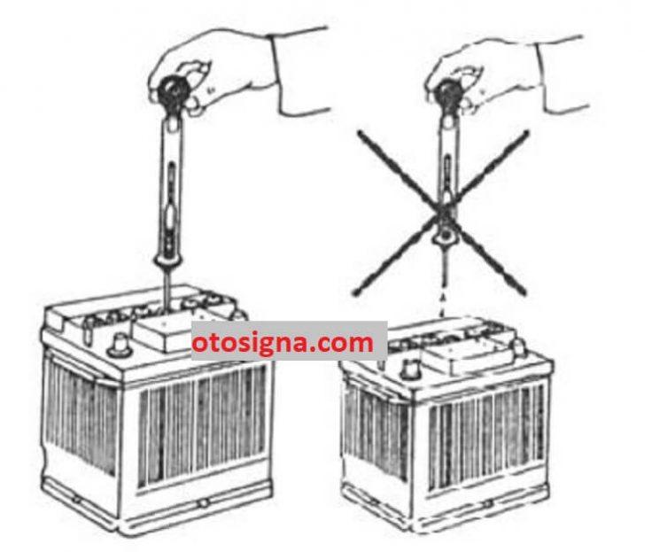 cara menggunakan hydrometer