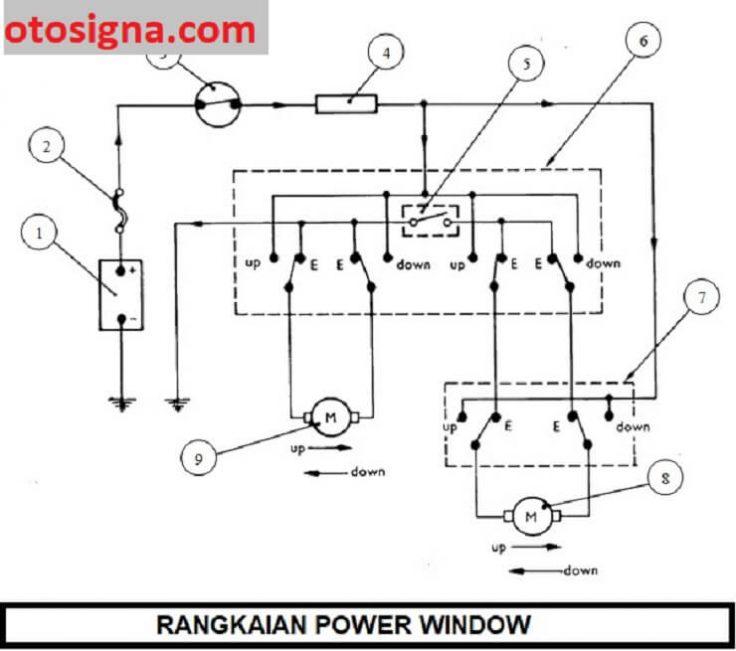 rangkaian power window